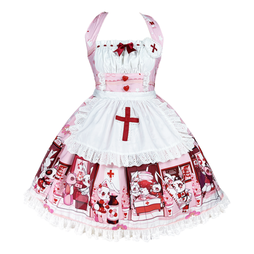 Diamond Honey ~Little Nurse Dolls Hospital Lolita Accessories -Pre-order