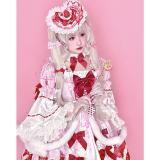 Diamond Honey ~ Strawberry Princess Lolita OP -Pre-order