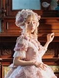 Henrietta ~Rose Queen Flowers Luxury Lolita OP - Bust: 100cm Waist: 87cm In Stock