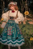 Miss Point ~The Song of Harvest Vintage Corset Lolita JSK -Pre-order