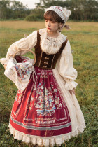 Miss Point ~The Song of Harvest Vintage Skirt -Pre-order