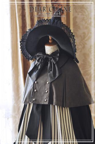 Dear Celine ~Halloween Playground Lolita Cape -Pre-order