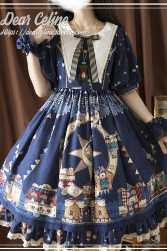 Dear Celine ~Enchanted Playground Lolita OP -Pre-order