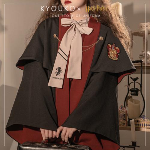Kyouko & Harry Potter Co-signed JK Uniform Cape