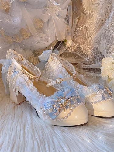 Hexagram Lolita Qi Lolita Wedding Shoes