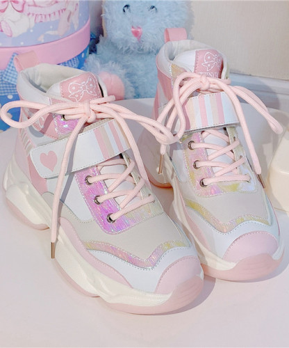 Stars Crown ~Electronic Maiden High Tops Lolita Sneaker -Pre-order