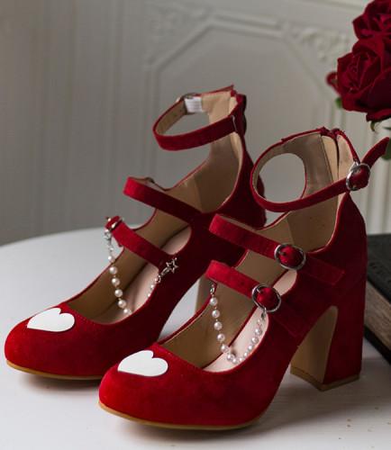 Hexagram Lolita Mary Janes Lolita Shoes