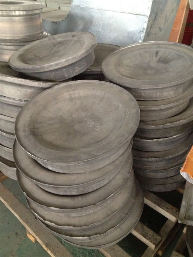 Forged center disk blanks