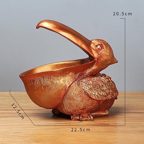 Decorative Toucan Storage Figurine