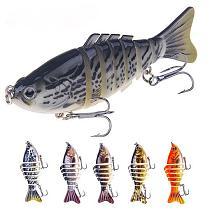 7 Segment Pro Bass Fishing Wobbler