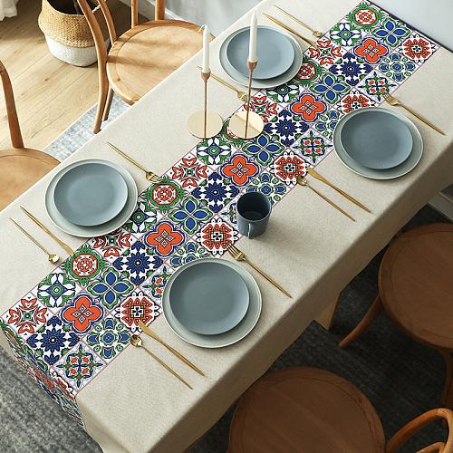 Waterproof and oil resistant  LEEVAN tablecloth