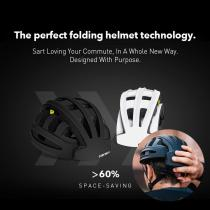Smallest Design Folding Bicycle Helmet