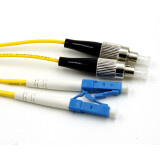 LC-FC SM DX Duplex Patch Cord
