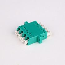 LC-APC Quad Fiber Optic Adapter