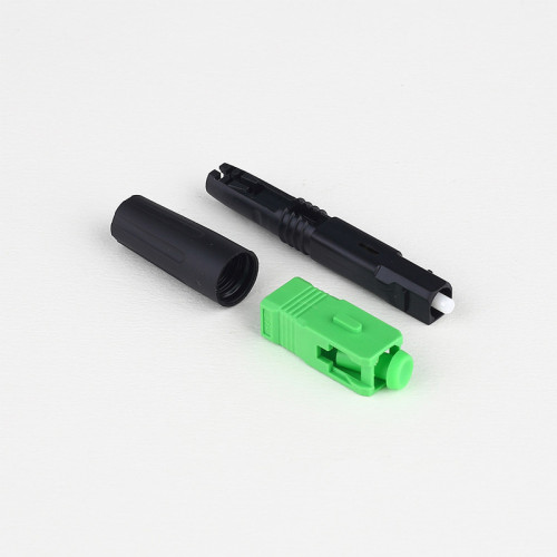 SC-APC H04 Fiber Optic Connector