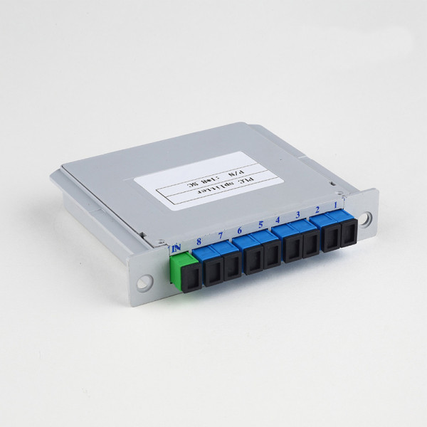 SC-UPC 1-8 Insert Type Fiber Optic Splitter