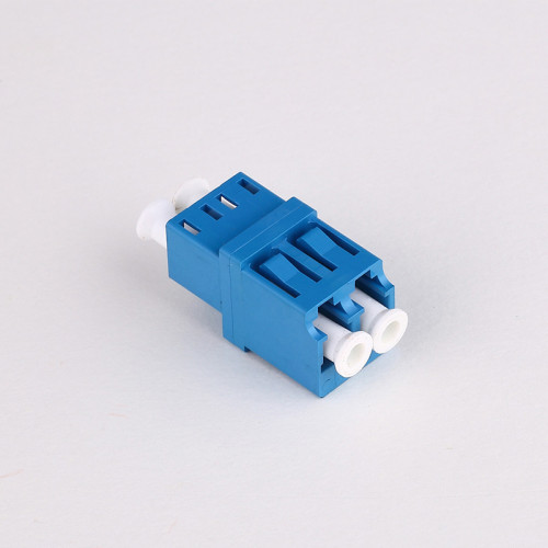 LC-UPC SM DX-Step Fiber Optic Adapter