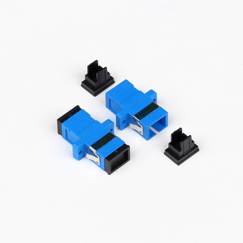 SC-UPC SM SX Fiber Optic Adapter