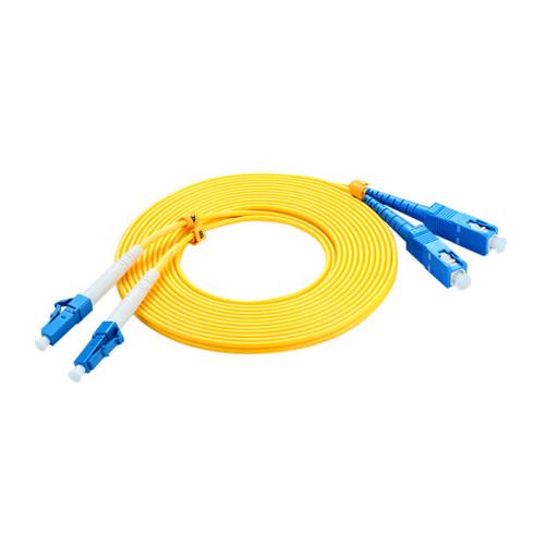 SC-LC SM DX Duplex Patch Cord