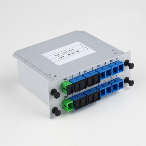 SC-UPC 2-16 Insert Type Fiber Optic Splitter