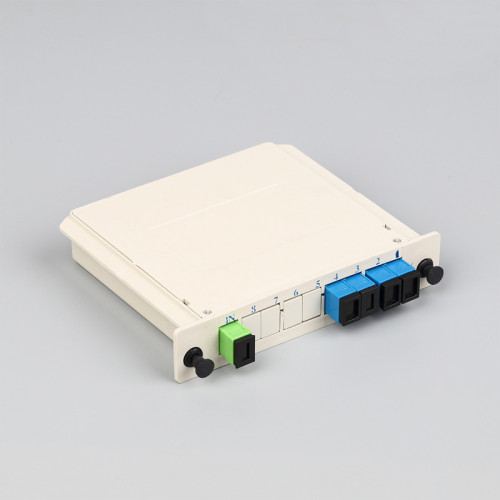 SC-UPC 1-4 Insert Type Fiber Optic Splitter