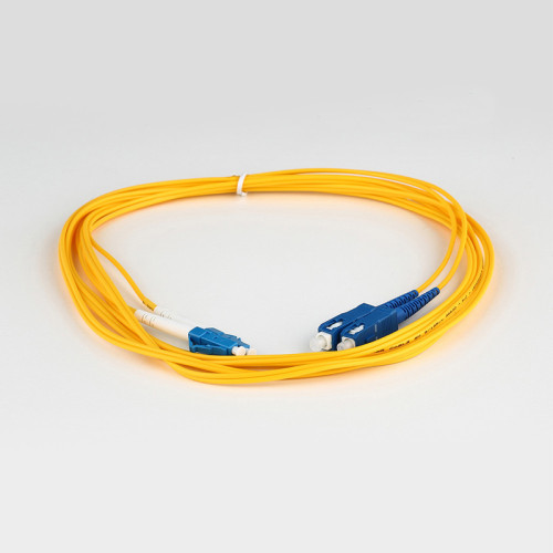 SC-LC SM DX Duplex Patch Cord