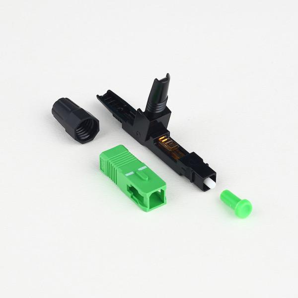 SC-APC H01 Fiber Optic Connector