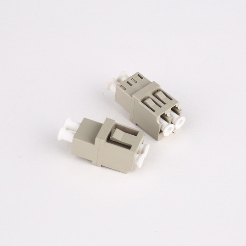 LC-UPC MM DX-Step Fiber Optic Adapter