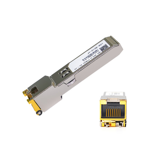 Gigabit RJ45 SFP Module 1000Mbps SFP Copper SFP Transceiver Module Compatible with Cisco/Mikrotik Gigabit Ethernet Switch