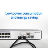 Hybrid 40G QSFP+ to 4xSFP+ DAC Cable 0.5M 1M 2M 3M 5M 7M Passive Direct Attach Copper Twinax Cable
