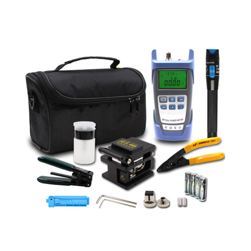 Economy Portable FTTH Fiber Optic ToolKit