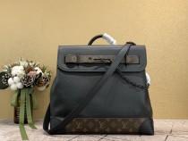 1:1 original leather louis vuitton men tote bag big bag Taiga M44473 00005 top quality