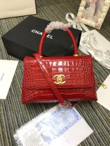 1:1 original leather Chanel coco handle tote shoulder bag A93050 00029 top quality
