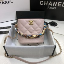 1:1 original leather Chanel bucket bag cross body bag 00044 top quality