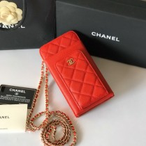 1:1 original leather Chanel mobile phone bag Ipod case Iphone AP0990 00058 top quality