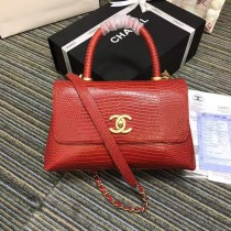 1:1 original leather Chanel coco handle tote shoulder bag A93050 00035 top quality