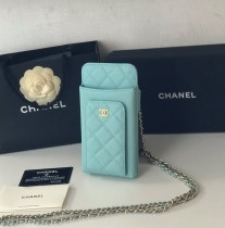1:1 original leather Chanel mobile phone bag Ipod case Iphone AP0990 00060 top quality