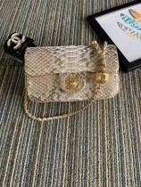 1:1 original leather Chanel mini CF shoulder handbag cross body bag S1787 00064 top quality
