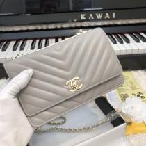 1:1 original leather Chanel woc cross body bag shoulder bag sale #80982 00056 top quality