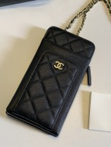 1:1 original leather Chanel mobile phone bag Ipod case Iphone AP0990 00061 top quality