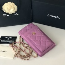 1:1 original leather Chanel mobile phone bag Ipod case Iphone AP0990 00059 top quality
