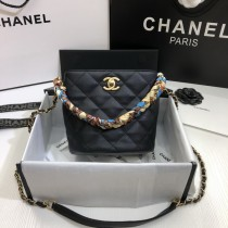 1:1 original leather Chanel bucket bag cross body bag 00043 top quality