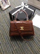 1:1 original leather Chanel coco handle tote shoulder bag A93050 00031 top quality