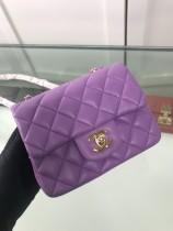 1:1 original sheepskin Chanel shoulder bag cross body bag mini 1115 00080 top quality
