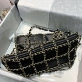 1:1 original leather Chanel totes bag swagger bag hobo bags 1383 00100 top quality