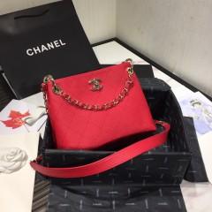 1:1 original leather Chanel cross body bag shoulder bag AS1461 00115 top quality