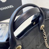 1:1 original leather Chanel tote shoulders bag beach bag 00112 top quality