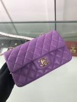 1:1 original sheepskin Chanel shoulder bag cross body bag 00079 top quality