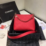 1:1 original leather Chanel cross body bag shoulder bag AS1461 00115 top quality