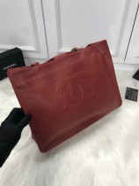 1:1 original leather Chanel shoulder handbag shopping bag 00085 top quality
